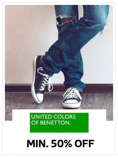 Min 50% off on Men's Footwear by UCB